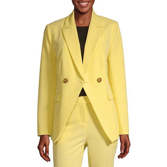Worthington Womens Regular Fit Blazer