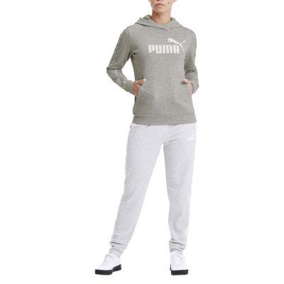Puma Amplified Womens Round Neck Long Sleeve Hoodie