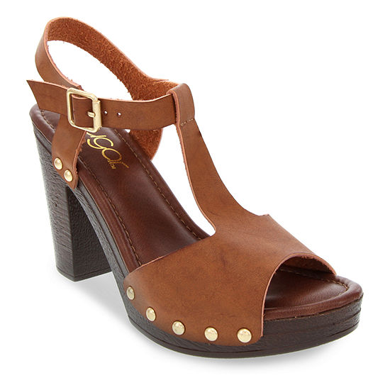 Sugar Womens Quele Heeled Sandals