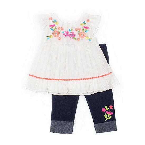 Little Lass-Toddler Girls 2-pc. Legging Set