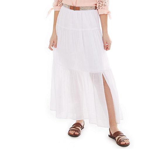 by&by girl Little & Big Girls Long Maxi Skirt