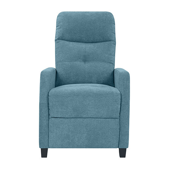 Tufted Prolounger Push Back Recliner w/Track-Arm