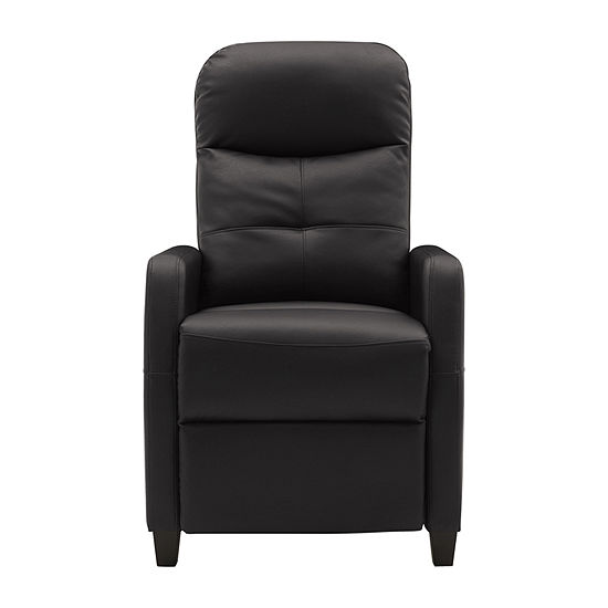 Prolounger Push Back Recliner Tufted Track-Arm Recliner