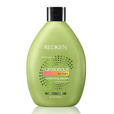 Redken Curvaceous Low Foam Shampoo - 10.1 oz.