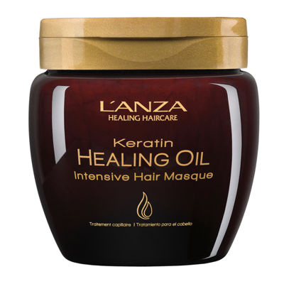 L'ANZA Keratin Healing Oil Intensive Hair Masque - 6.8 oz.