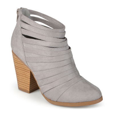 Journee Collection Selena Strappy Ankle Womens Booties