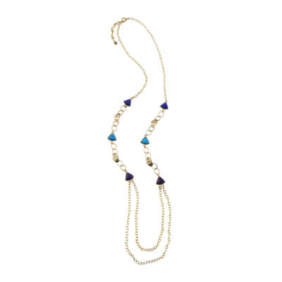 Art Smith by BARSE Genuine Howlite Station Necklace