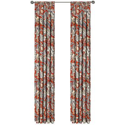 Ventura Lined Rod-Pocket Curtain Panel