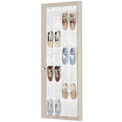 Whitmor 12-Pair Over-the-Door Shoe Bag