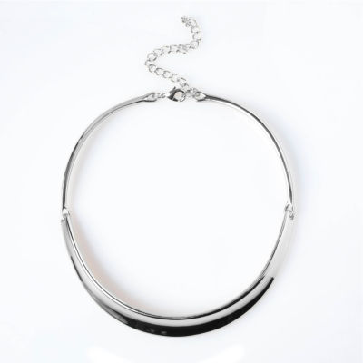 Bold Elements™ Silver-Tone Collar Necklace