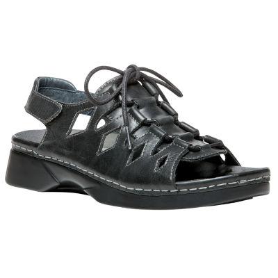 Propet Womens Ghilliewalker Adjustable Strap Flat Sandals