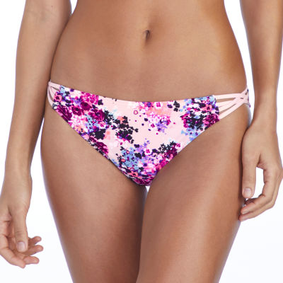 Ambrielle Floral Hipster Swimsuit Bottom