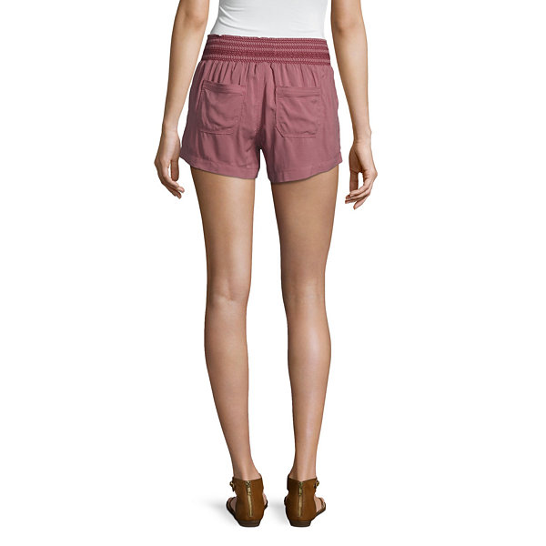 Rewash Woven Pull-On Shorts-Juniors