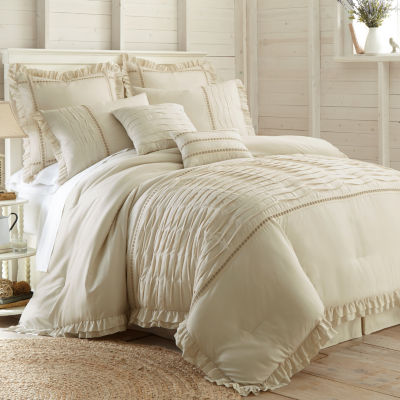 8-pc.Pleated Comforter Set Antonella