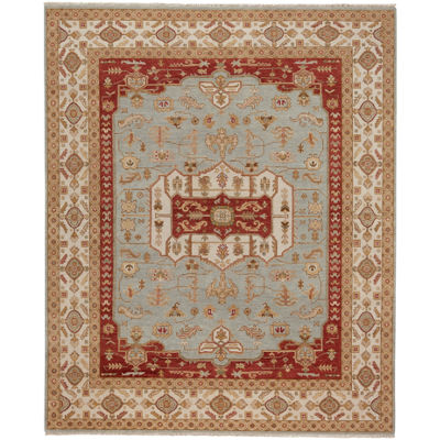 Capel Inc. Biltmore Plantation-Voyage Hand Knotted Rectangular Indoor Area Rug