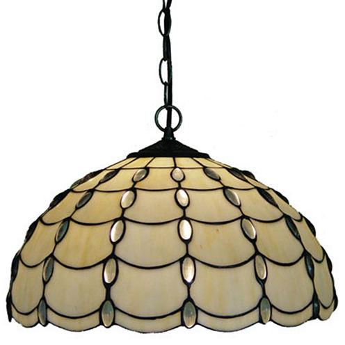 Amora Lighting AM1042HL16 Tiffany Style Cascade Pendant Lamp 16-Inch