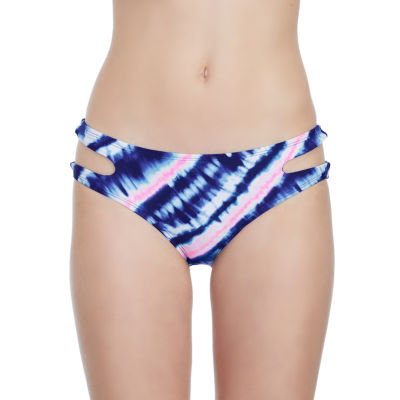 Arizona Tie Dye Bikini Swimsuit Bottom-Juniors