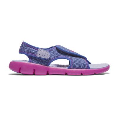 Nike Sunray Adjust 4 Girls Strap Sandals - Little Kids/Big Kids