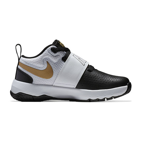 Nike Team Hustle D 8 Boys Basketball Shoes - Little Kids