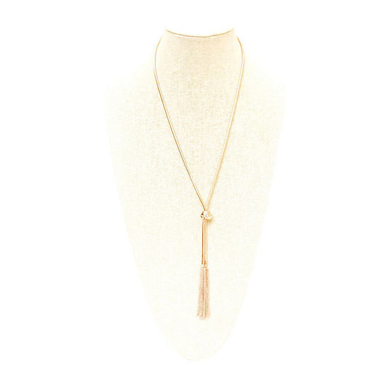 a.n.a 33 Inch Snake Chain Necklace