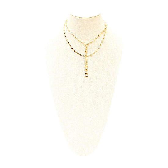 a.n.a 16 Inch Braid Y Necklace