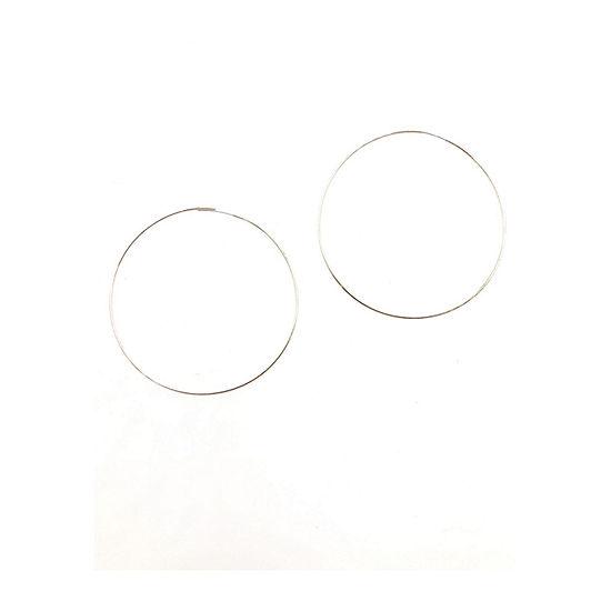 a.n.a 1 Pair Hoop Earrings