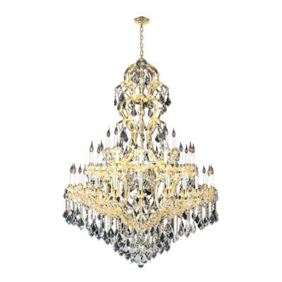 Maria Theresa Collection 48 Light 3-Tier Round Crystal Chandelier