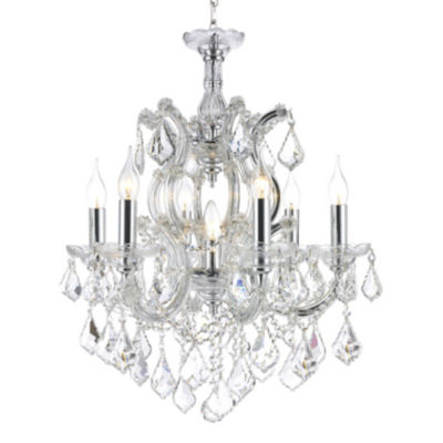 Maria Theresa Collection 7 Light Crystal Chandelier