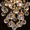 Icicle Collection 1 Light Chrome Finish and Clear Crystal Mini Pendant