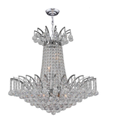 Empire Collection 8 Light Crystal Chandelier