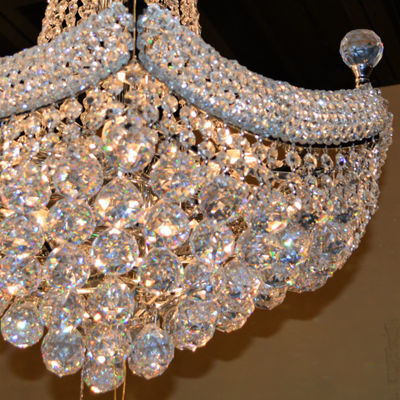 Empire Collection 15 Light Crystal Chandelier