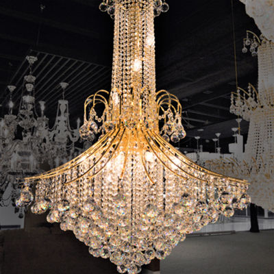 Empire Collection 16 Light Crystal Chandelier
