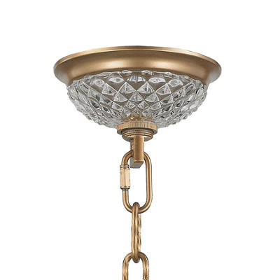 "Gatsby Collection 4 Light Matte Finish with BlackDrum Shade Chandelier 26"" D x 26"" H"""