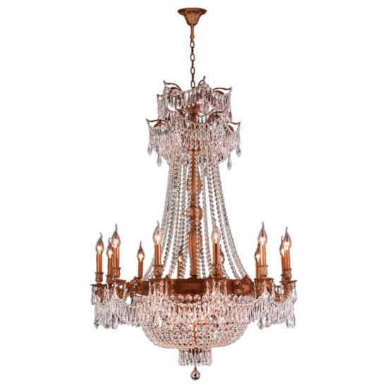 Winchester Collection 18 Light Clear Crystal Chandelier