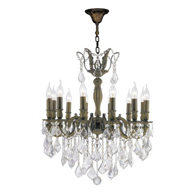 Versailles Collection 12 Light Clear Crystal Chandelier