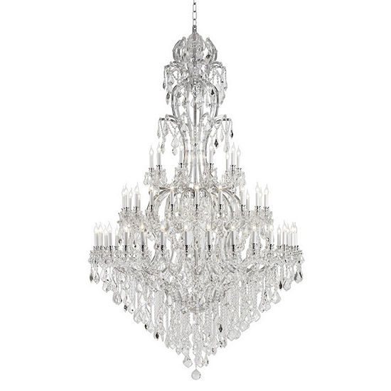 Maria Theresa Collection 60 Light 3 Tier Round Crystal Chandelier