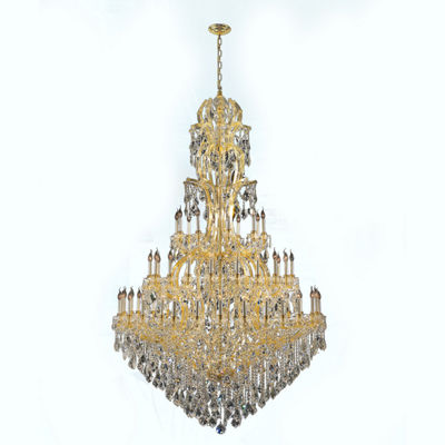 Maria Theresa Collection 60 Light 3-Tier Round Crystal Chandelier