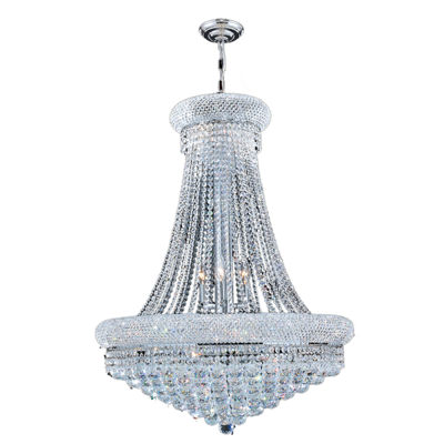 Empire Collection 14 Light Crystal Chandelier