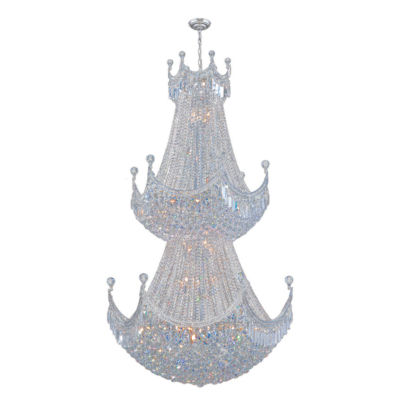 Empire Collection 51 Light Round Crystal Chandelier