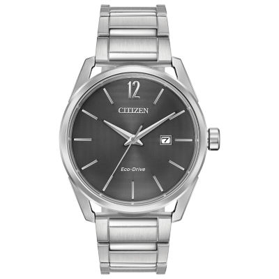Drive from Citizen Mens Silver Tone Bracelet Watch-Bm7410-51h