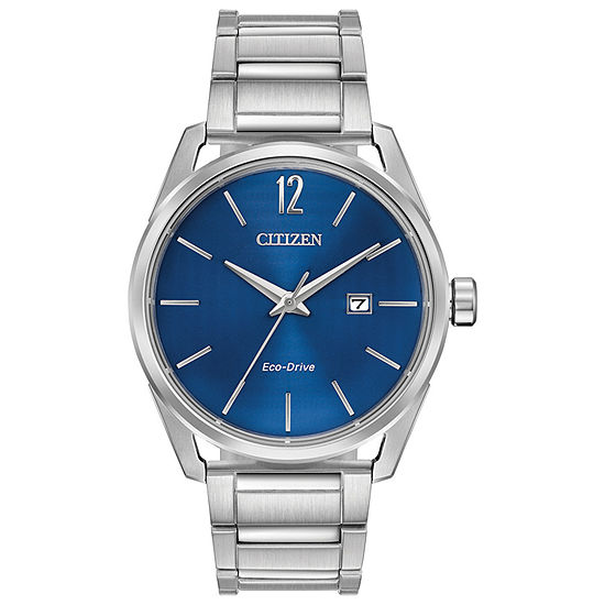Drive from Citizen Mens Silver Tone Stainless Steel Bracelet Watch-Bm7410-51l