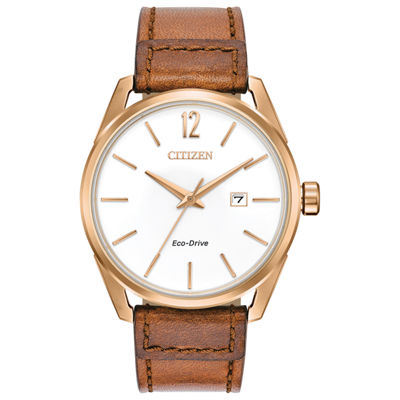 Drive from Citizen Mens Brown Strap Watch-Bm7413-02a