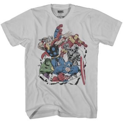 Marvel Retro Avengers Graphic Tee