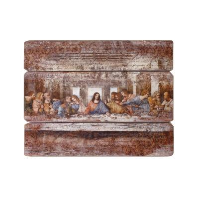"""26"""" Last Supper Decorative Plaque"""""""