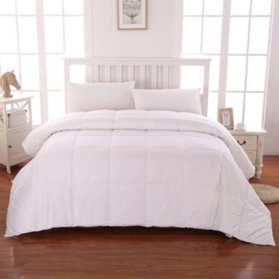 Cottonloft® Medium-Warmth Cotton-Filled Down-Alternative Comforter