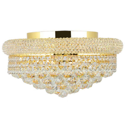 Empire Collection 8 Light Clear Crystal Flush Mount Ceiling Light