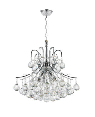 Empire Collection 6 Light Mini Crystal Chandelier