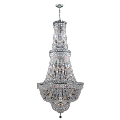 Empire Collection 34 Light Crystal Chandelier