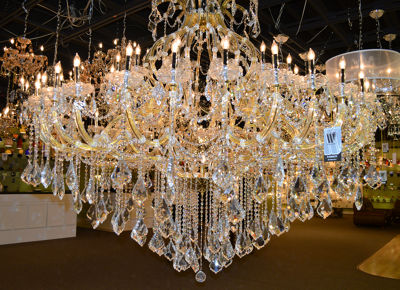 Maria Theresa Collection 49 Light 2-Tier Crystal Chandelier