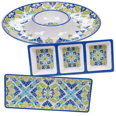 Certified International Martinique 3-pc. Serving Set